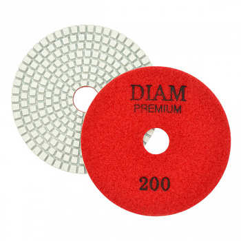 АГШК Ø100мм #200 DIAM Premium White Wet