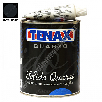 Клей-мастика SOLIDO QUARZO BLACK BAHIA (1л) TENAX