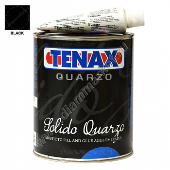 Клей-мастика SOLIDO QUARZO BLACK (1л) TENAX