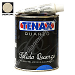 Клей-мастика SOLIDO QUARZO CREMA DARK (1л) TENAX