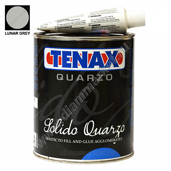 Клей-мастика SOLIDO QUARZO LUNAR GREY (1л) TENAX